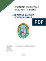 1.- Historia Clinica Neurologica