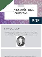 Presentacion (Prevencion Del Suicidio)