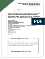 Actividad de Entrega – Momentos de Verdad y Evaluación Del Servicio Modulo 5 (1)