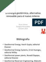 Modulo 5 energía geotérmica