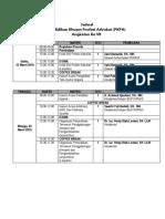 Jadwal PKPA 9 Maret-31 Maret 2019 Fixxx