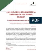 Laura Borsellino, Los zoológicos son aliados de la conservación o un residuo colonial.pdf