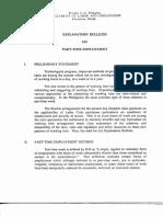 239525067 Explanatory Bulletin on Part Time Employment