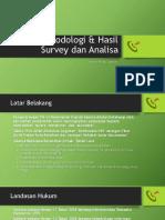Laporan pendahuluan & Hasil Survey1.pptx