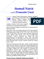 0 1  Mohamad Natsir