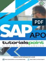 SAP APO tutorial