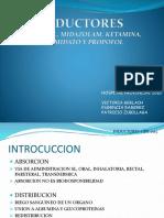 Inductores anestesiología