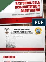 Trastornos de la conciencia calitativo y cuantitativo.pptx