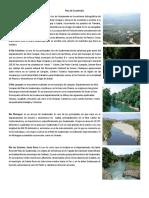 Rios y Lagunas de Guatemala