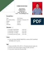 CV Freasman