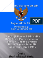 mengkaji sistem demokrasi indonesia.ppt