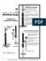 WG-2 Welding Gage