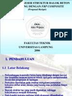 Proposal Tesis Teknologi Pendidikan PDF