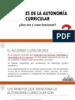 Los Clubes de La Autonomía Curricular (1)