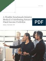 Attributing Return for FI Portfolios WP