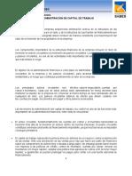 3.1.Definición e Importancia de La Administración Del Capital de Trabajo