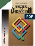 mintzberg y la direccion