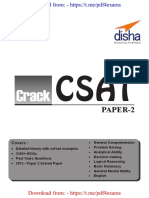 CRACK CSAT Paper 2 with Mock Te - Disha Experts [@PDF4Exams].pdf