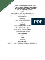 PROCEDIMIENTO DE PRACTICAS