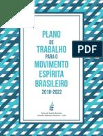 Plano de Trabalho Para Movimento Espirita Brasileiro