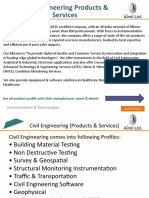 State of the Art Products Civil Engineering Manufacturer - Product & Services