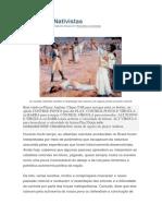 Rebeliões Nativistas Brasil