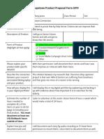 tiffany jones - ermert- senior capstone product proposal