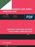 Review Tanaman Famili Annonaceae
