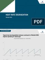W34SG Heat Rate Degradation
