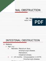 32987 Intestinal Obstruction(Pbl)(Teaching)