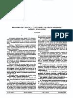 Programa de conversão de dívida externa em investimento