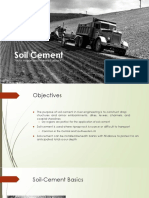 CIVE 717 Assignment 4 - Soil Cement