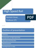 High Speed Railways - PIT