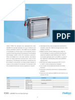 FDB2 - A0(A60) Fire and Gas Damper