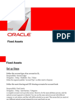 Oracle Fixed Asset
