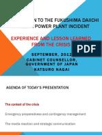 4 September 1100 - Katsuro Nagai_Introduction to the Fukushima Daiichi Nuclear Power Plant
