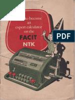 Facit Manual