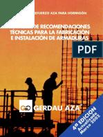 Manual de recomendaciones técnicas para la fabricación e instalación de armaduras + Catalogos.pdf