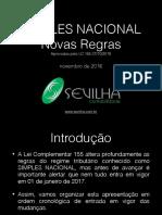 03 - Apostila PDF -Novas Regras Simples Nacional 2018 - Sevilha Contabilidade