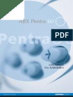 ABX Pentra 60 User Manual.pdf