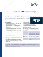 Factsheet Eurex Euro-swap Futures