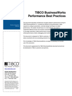 TIBCO BW Performance Best Practices
