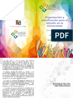 Organizacion y Planificacion Para El Estudio en La Universidad Ps Monica Osorio Vargas PDF 989 Kb