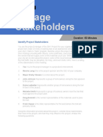 Mapping Stakeholder Engagement Updated 42718