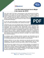 Comunicado del PP en el Día Internacional de la Mujer [PDF]