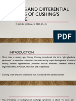 Diagnosis and Differential Diagnosis of Cushing's Syndrome