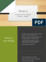 TEMA 4 Los metodos de Las Ciencias