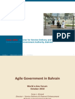 Agile government in Dubai