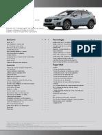 Ficha Subaru Xv 1,6i