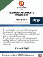 Evolução Planejamento Estratégico 20 Anos - Portal